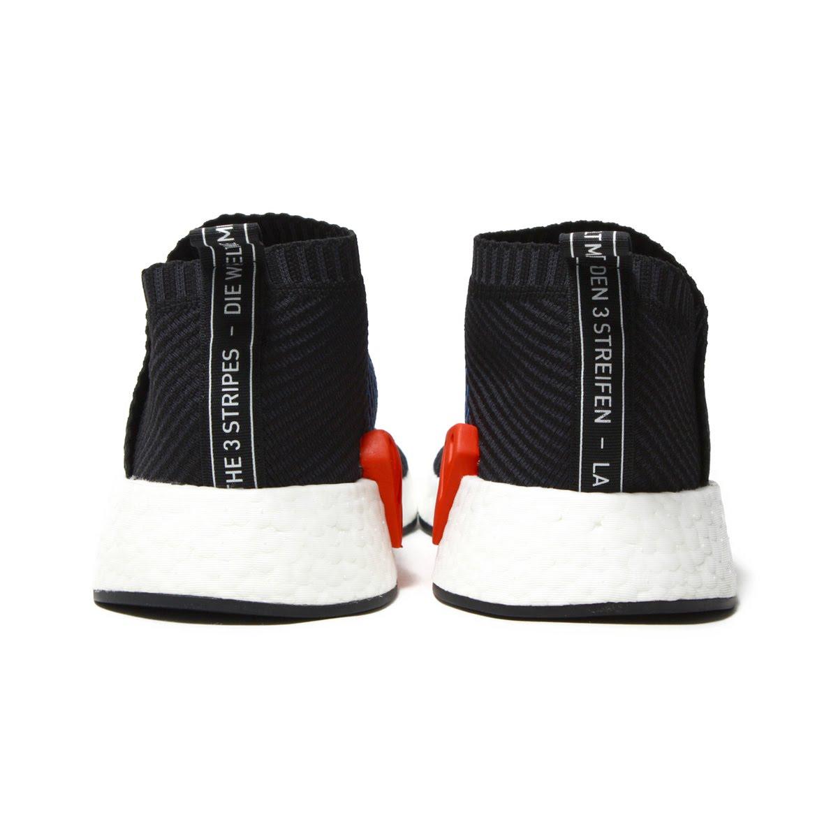 0e4a02ef328ab adidas Originals NMD CS2 PK (Adidas originals N M D CS2 PK) Core Black Red  Solid 18SP-I