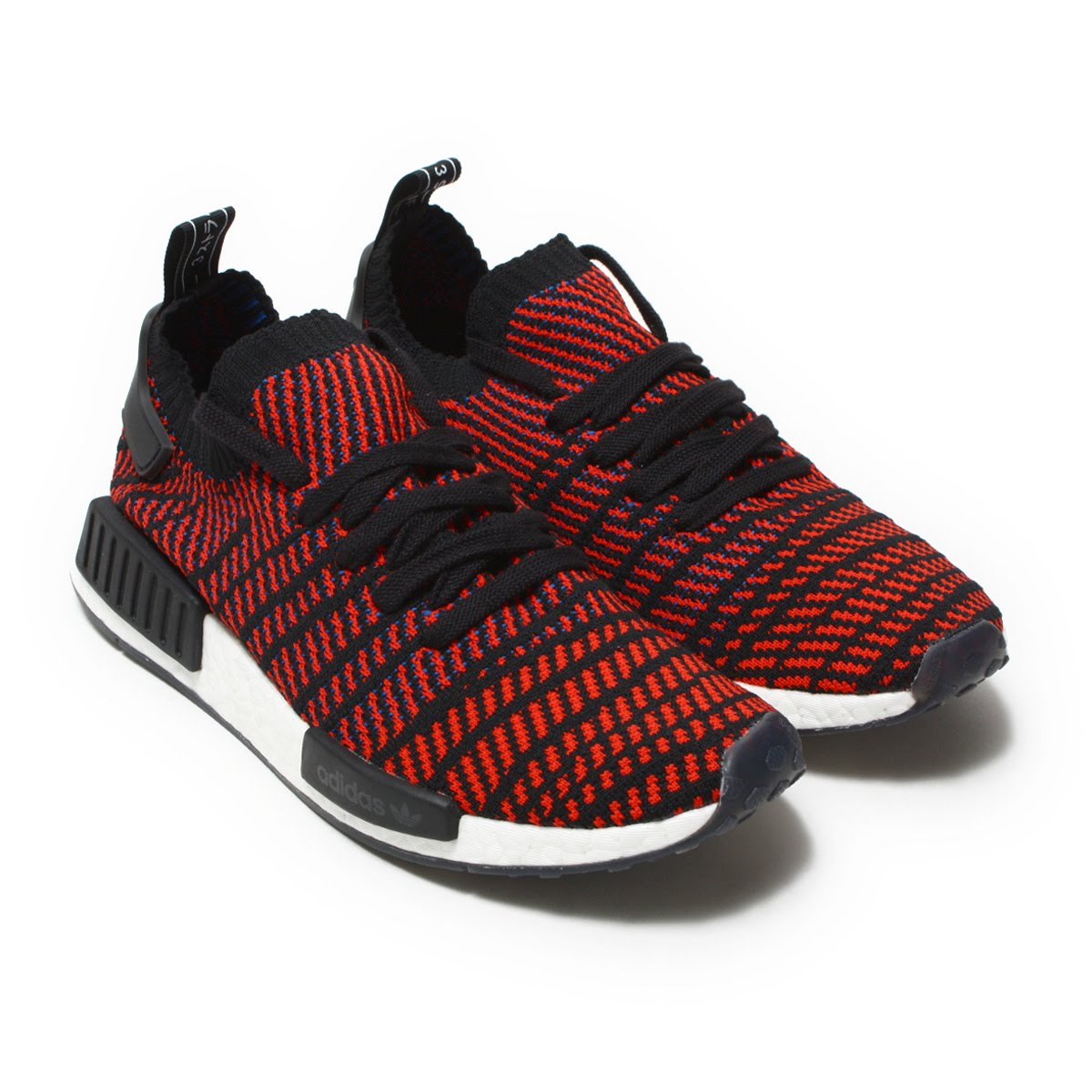 adidas Originals NMD R1 STLT PK(アディダス オリジナルス エヌエムディー R1 STLT PK) Core Black/Red Solid/Satellite18SP-I