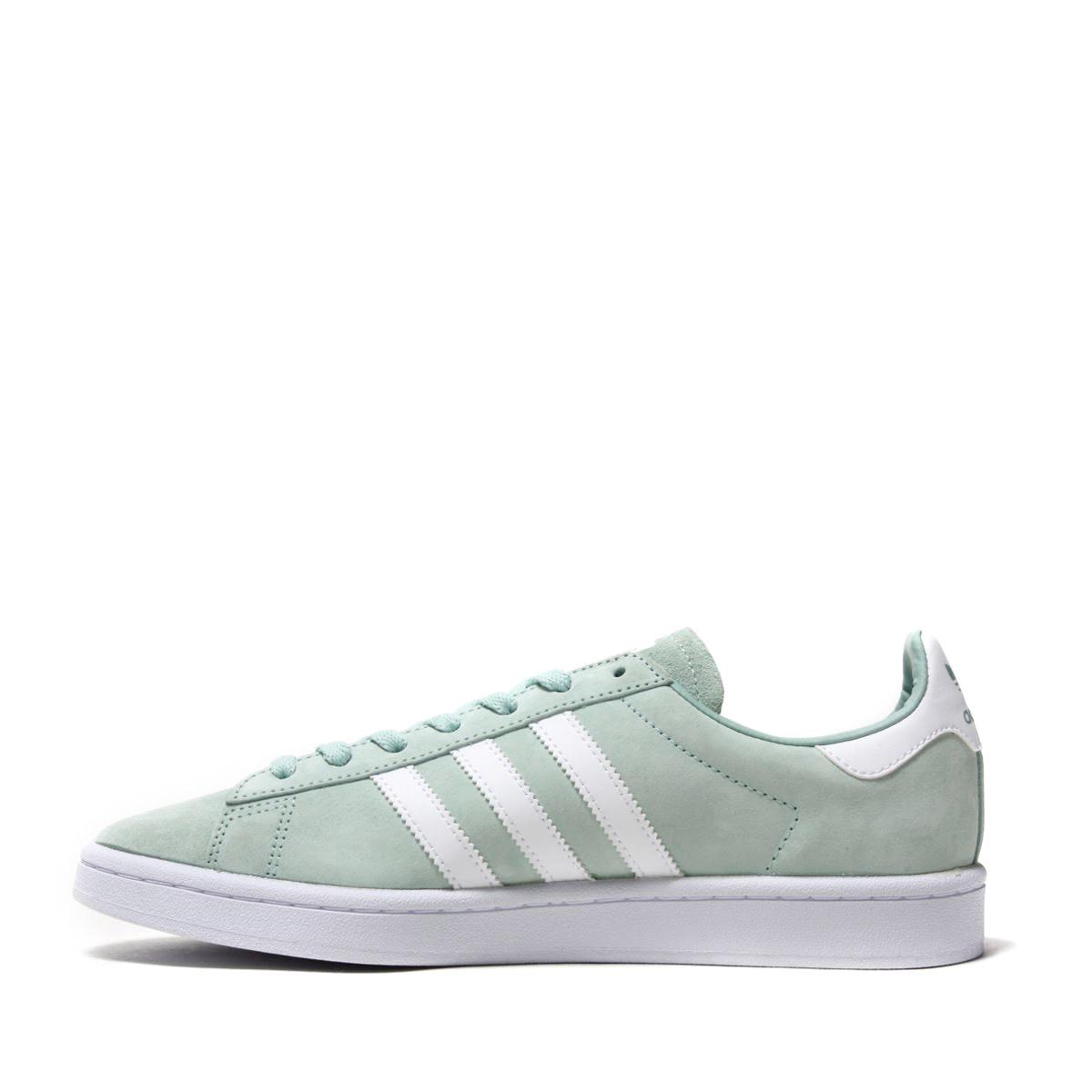reputable site 7f225 8b248 adidas Originals CAMPUS (Adidas original scan pass) Ash GreenRunning  WhiteRunning White 18SS-I