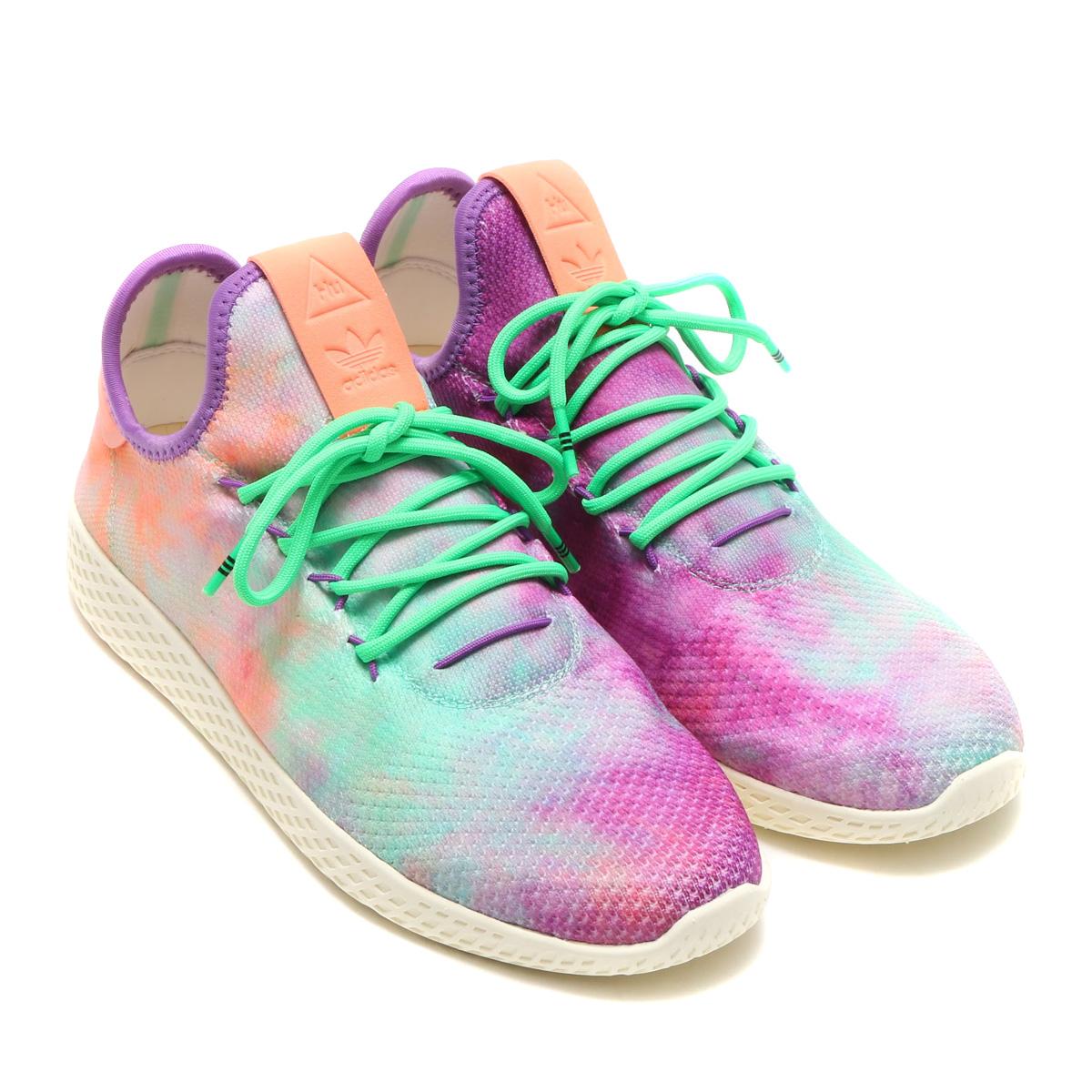 adidas Originals PW HU HOLI TENNIS HU MC (アディダス オリジナルス ファレル ウィリアムス HU HOLI テニスHU MC) Chalk Coral / Supplier Color / Supplier Color【メンズ スニーカー】18SS-S