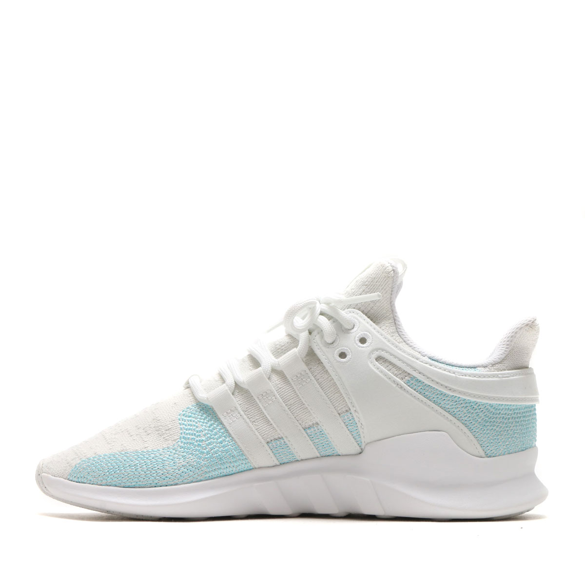 adidas Originals EQT SUPPORT ADV CK PARLEY (Adidas originals EQT support CK soft headed Ray) Running WhiteBlue SpritOff White