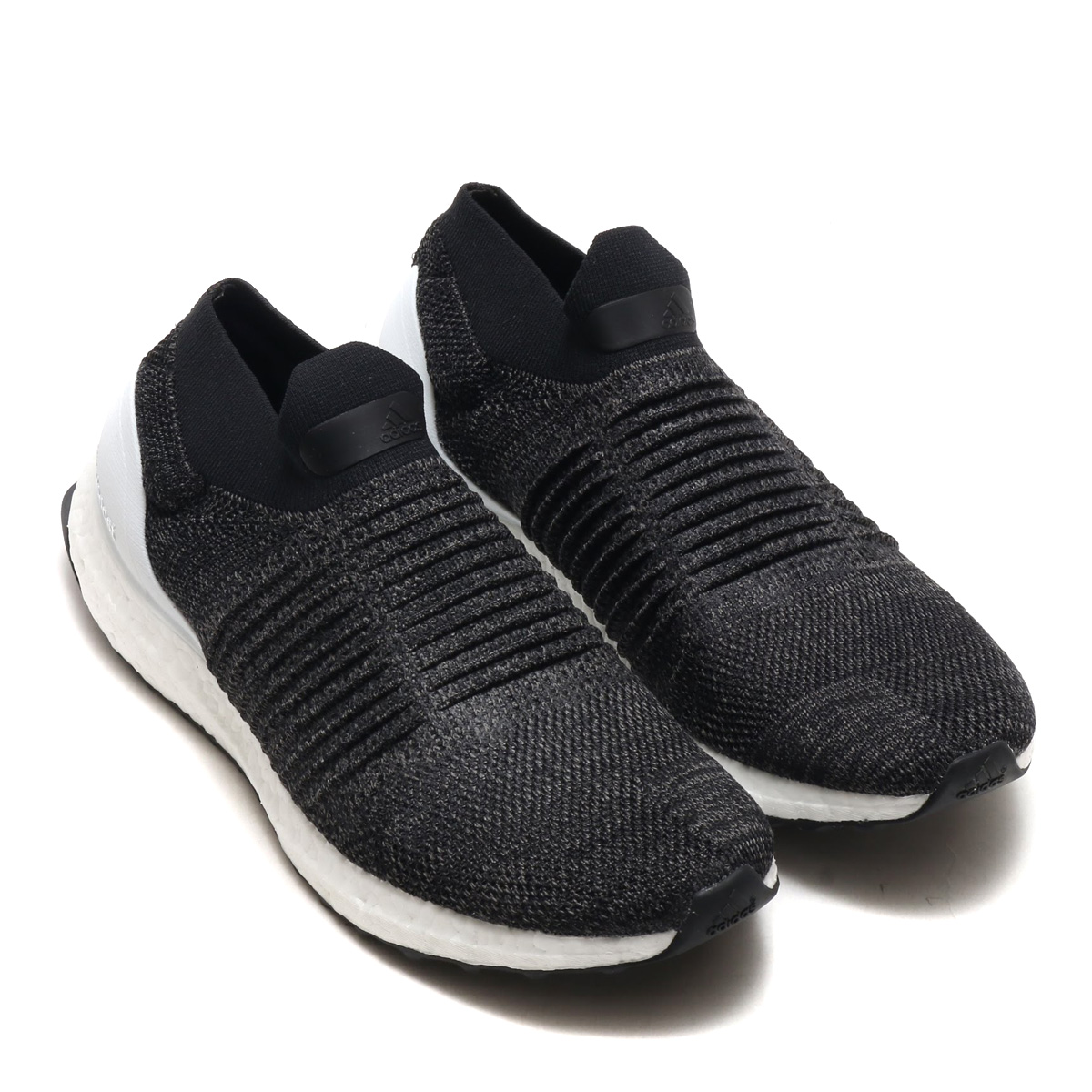 d9de3547d3f61 adidas UltraBOOST LACELESS (Adidas ultra boost race reply) (core black    core black   solar orange) 18SS-I