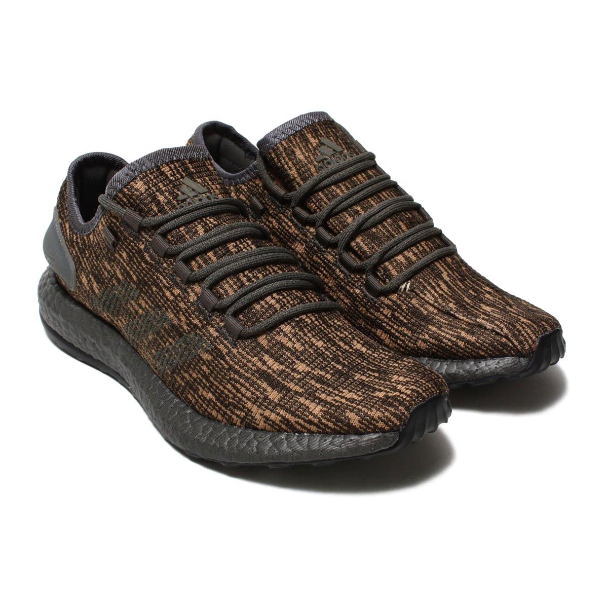 adidas Originals PureBOOST(アディダス オリジナルス ピュアブースト)(シンダー/シンダー/ローゴールド S18)18SS-I