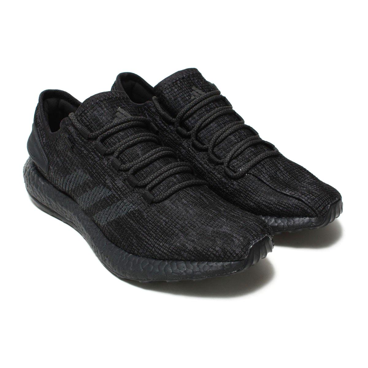adidas Originals PureBOOST LTD(アディダス オリジナルス ピュアブースト LTD)(コアブラック/DGH ソリッドグレー/DGH ソリッドグレー)18SS-I
