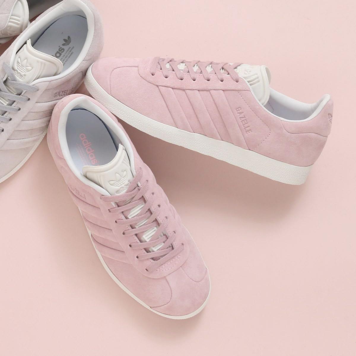 f60492f31eb28 adidas Originals GAZELLE STITCH AND TURN W (Adidas originals gazelle stitch  and turn W) (Wonder pink F10  Wonder pink F10  running white) 18SS-I