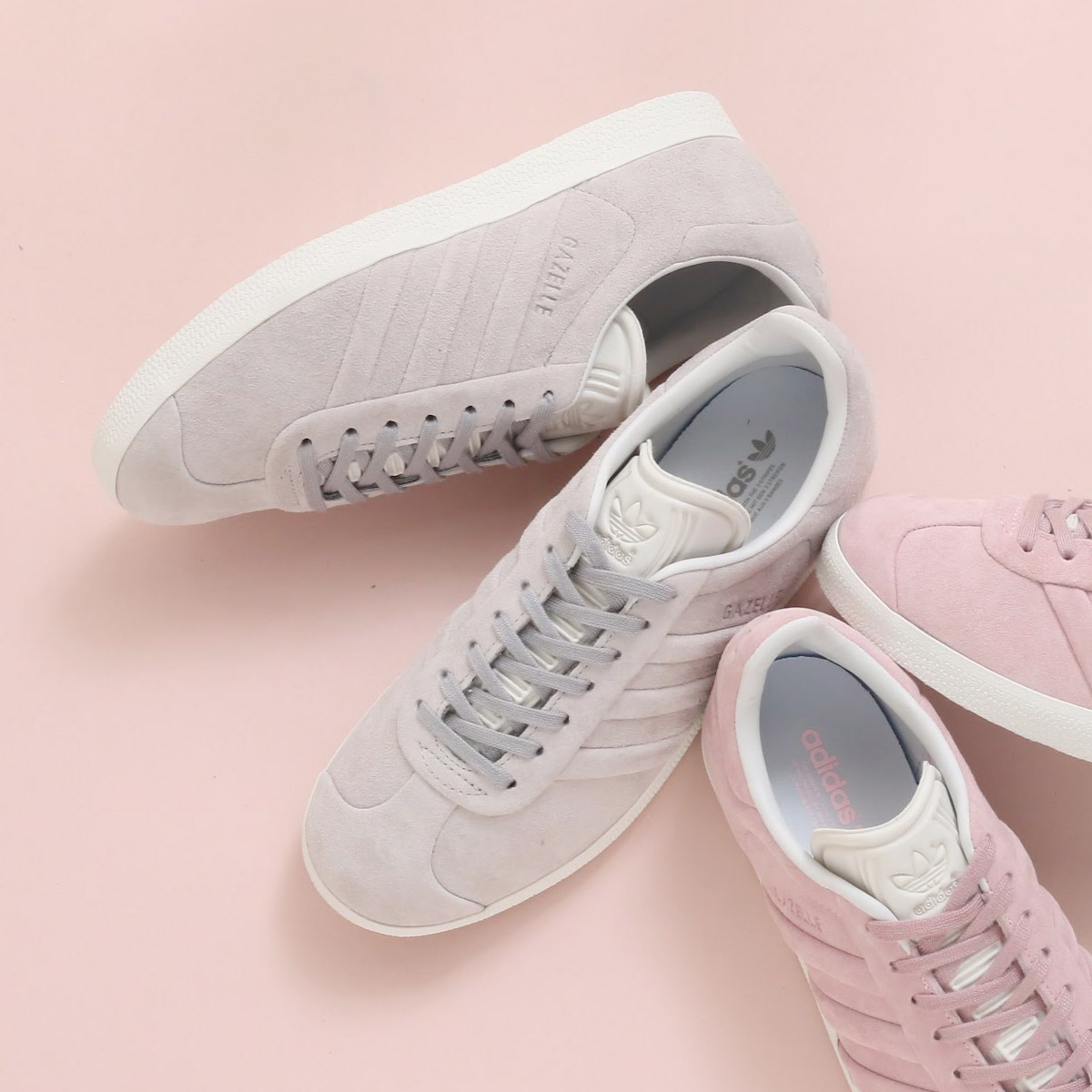 23449af6cf44f adidas Originals GAZELLE STITCH AND TURN W (Adidas originals gazelle stitch  and turn W) (gray TWO F17  gray TWO F17  running white) 18SS-I
