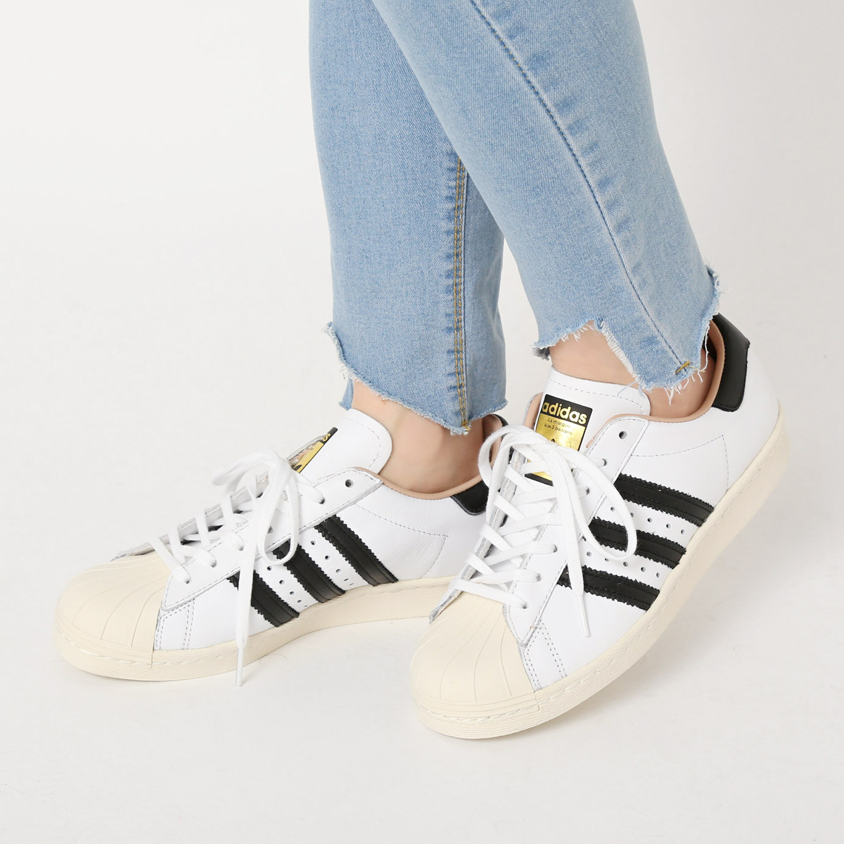 adidas Originals SUPERSTAR 80s W (Running WhiteCore BlackOff White) (Adidas originals superstar 80s) 17SS I