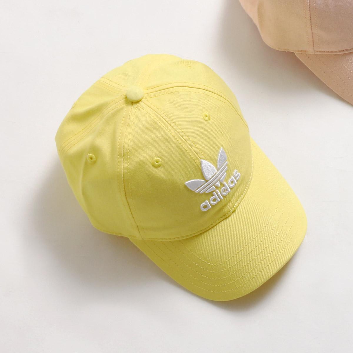 26e6cee3c4d adidas Originals TREFOIL CAP (アディダスオリジナルストレフォイルキャップ) IntenseLemon White  18SS-I