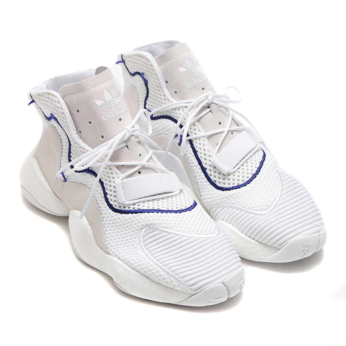 adidas Originals CRAZY BYW(アディダス オリジナルス クレイジー BYW)(ランニングホワイト/ランニングホワイト/リアルパープル S18)18SS-I