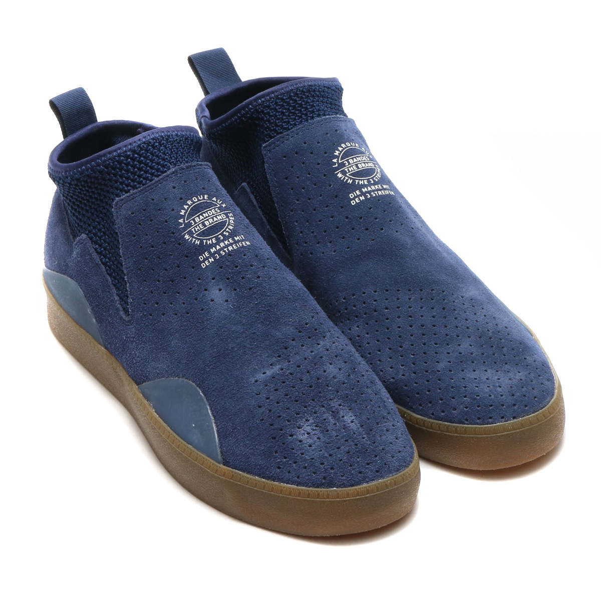 buy popular fde62 89143 Through the device by riders of the Adidas skateboarding, a little with the  classic vulcanized の design comes up. I finish one piece of good-quality  suede ...