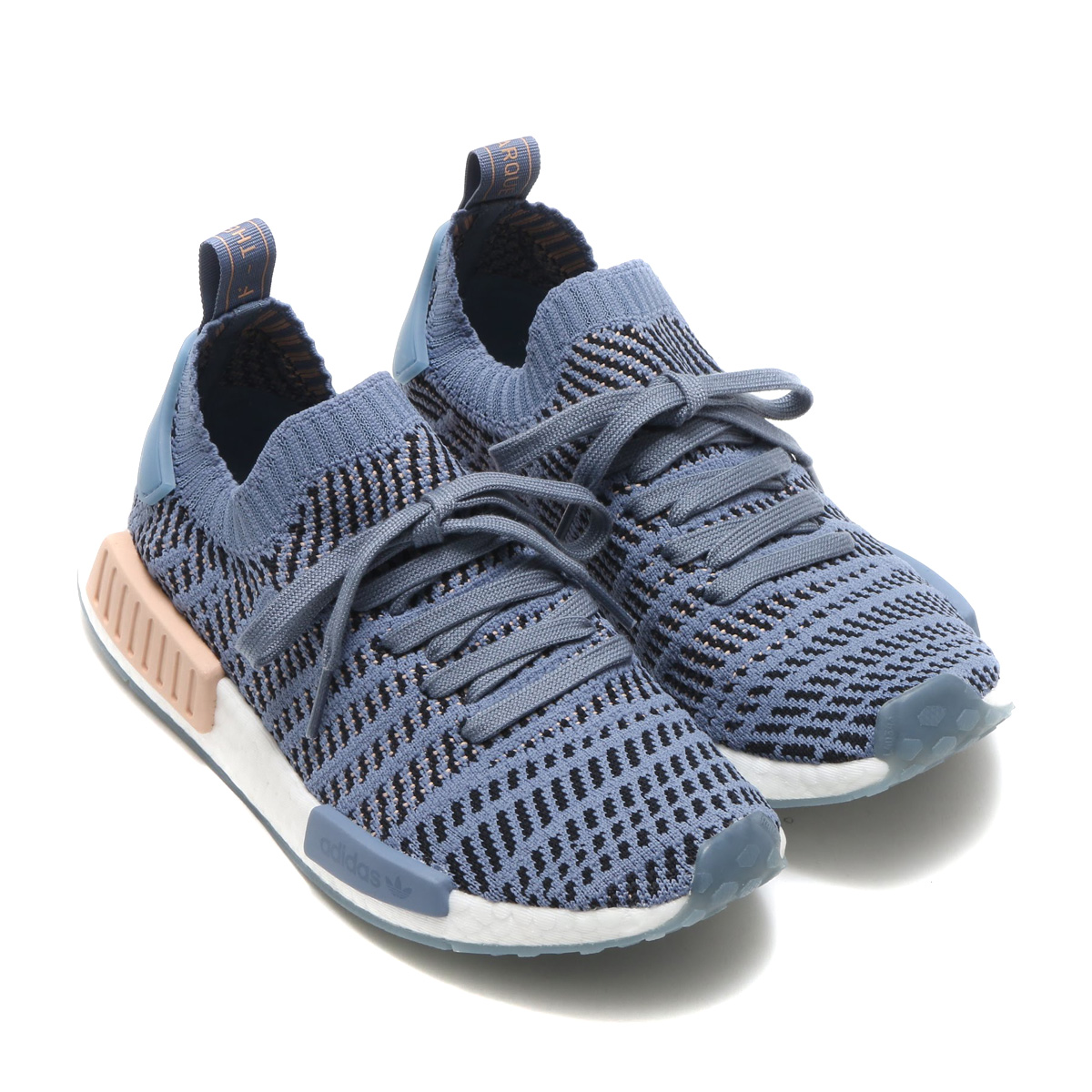 new product 693ab ddf69 adidas Originals NMD_R1 STLT PK W (Adidas originals N M D R1 STLT PK W)  Steel/Ash Pearl/Running White 18SS-I