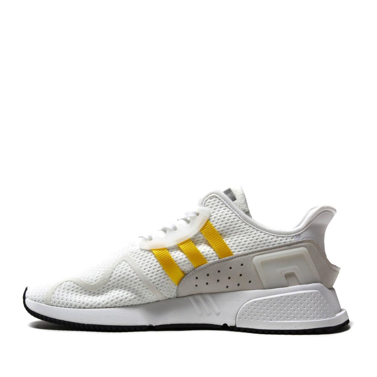 9504e1ea0d853e adidas Originals EQT CUSHION ADV (Adidas originals E cue tea cushion ADV) Running  White Eqt Yellow Silver Met 18SS-I
