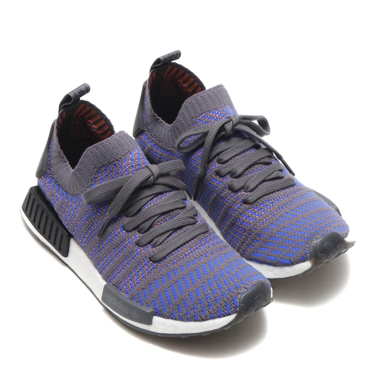 adidas Originals NMD R1 STLT PK Sneakers BlueBlack | Zando