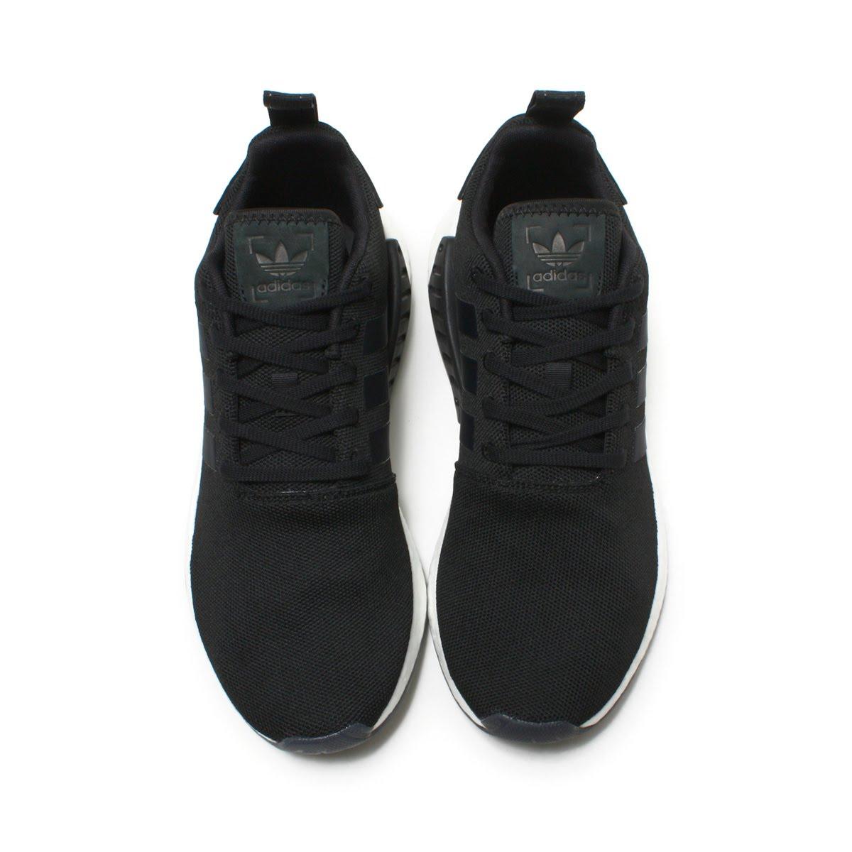 8a5ed6102 adidas Originals NMD R2 (Adidas originals N M D R2) Core Black Core  Black Core Black 18SS-I