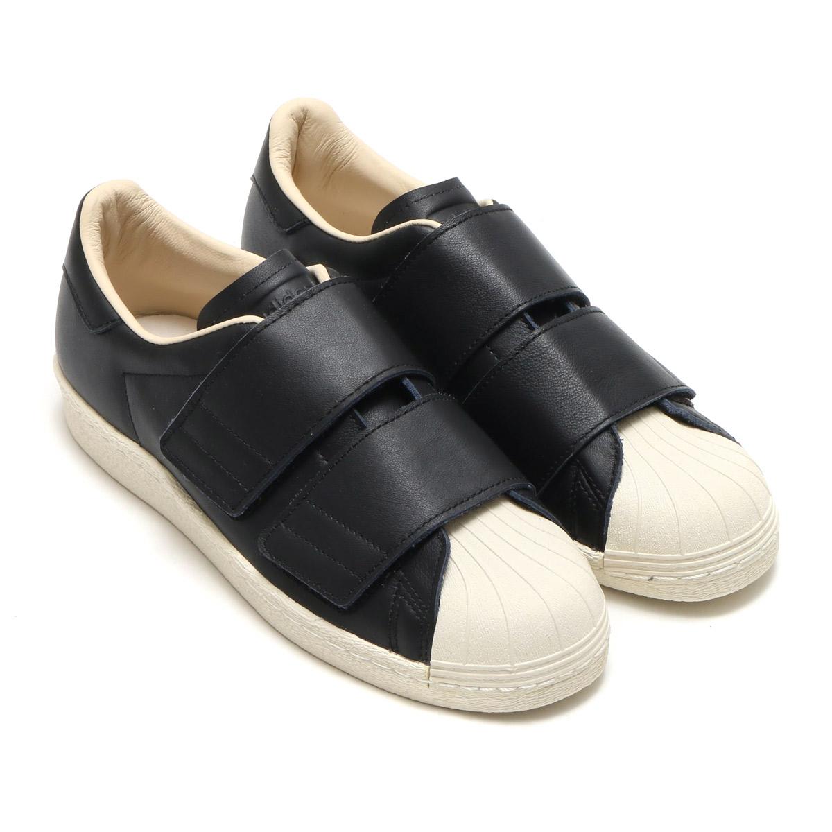 best service c5e0a fa2a1 adidas Originals SS 80s VELCRO W (Adidas originals superstar 80s Velcro W)  Core Black/Core Black/Linen 18SS-I