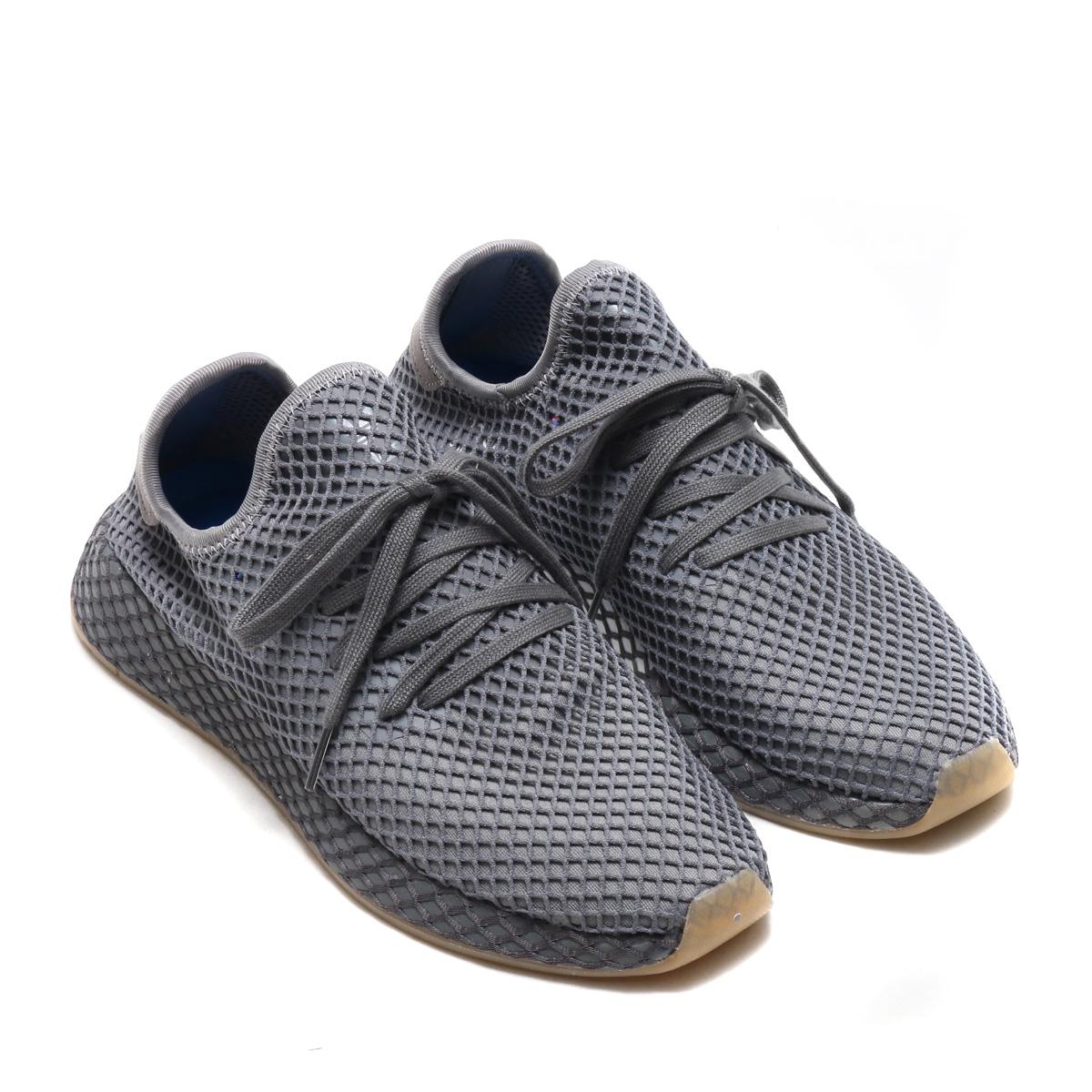adidas Originals DEERUPT RUNNER(アディダス オリジナルス ディーラプト ランナー)(グレースリーF17/グレーフォアF17/ランニングホワイト)18SS-I