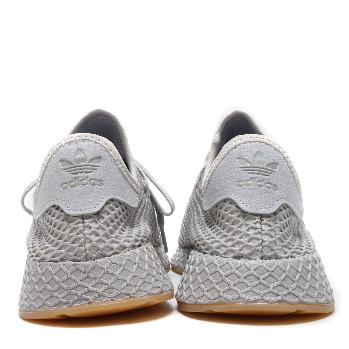f6aeae7d716e5 adidas Originals DEERUPT RUNNER (アディダスオリジナルスディーラプトランナー) (Grace Lee F17 LGH  solid gray   gum 1) 18SS-I