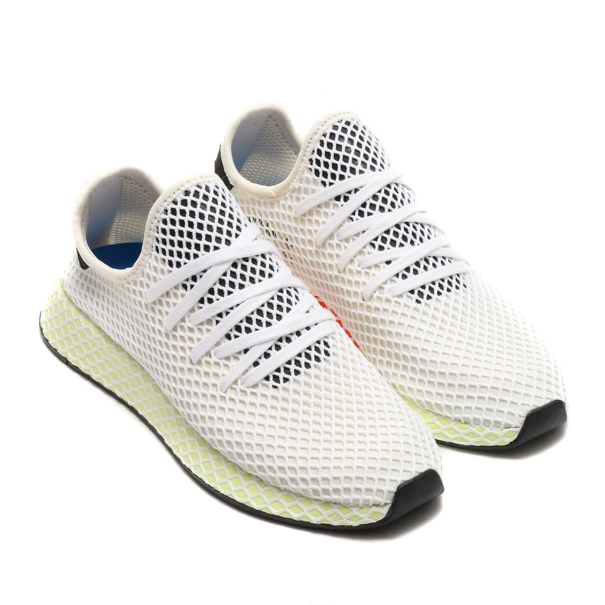 adidas Originals DEERUPT RUNNER(アディダス オリジナルス ディーラプト ランナー)(チョークホワイト/コアブラック/コアブラック)18SS-I