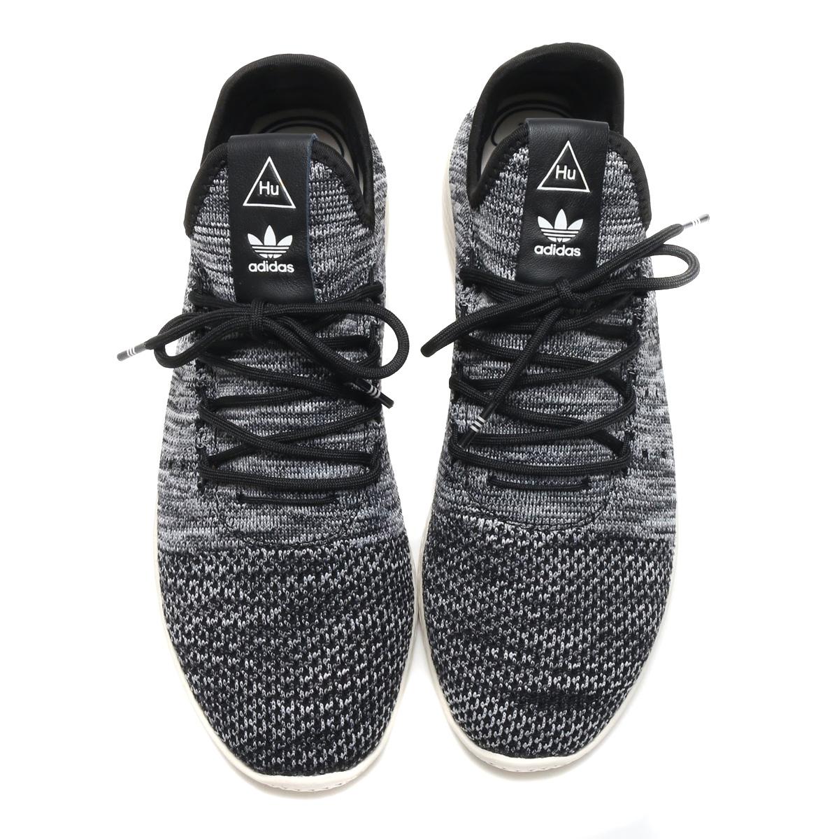 adidas Originals PW TENNIS HU PK (Adidas originals Farrell Williams tennis  HU PK) Chalk White   Core Black   Running White 18SP-S 6f19e218a897b