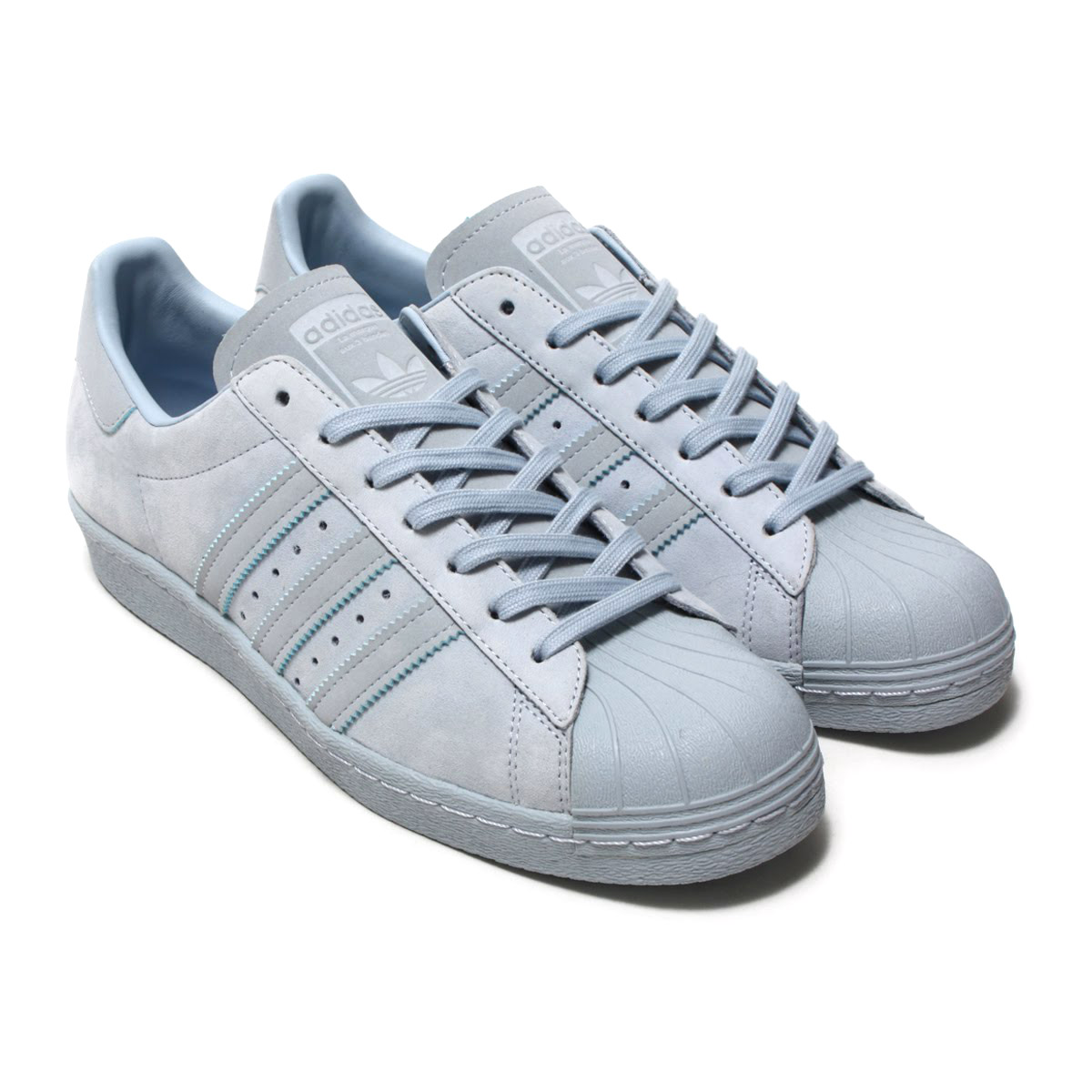 meet 307f2 6f0a5 adidas Originals SUPERSTAR 80s (Adidas originals superstar 80s) Aero  Blue/Aero Blue/Aero Blue 18SS-I