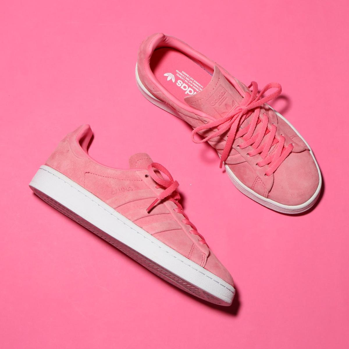 promo code 9b6a2 79314 adidas Originals CAMPUS STITCH AND TURN W (Adidas original scan pass stitch  and turn W) (chalk pink S18 chalk pink S18 goal domet) 18SS-I