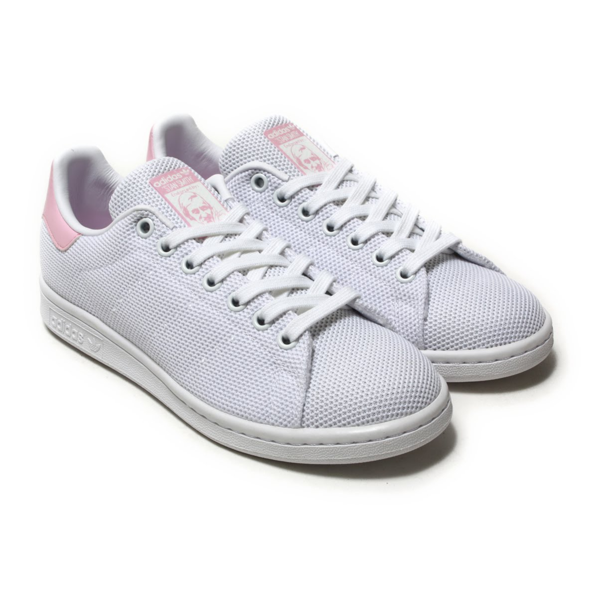 stan smith shoes gray pink