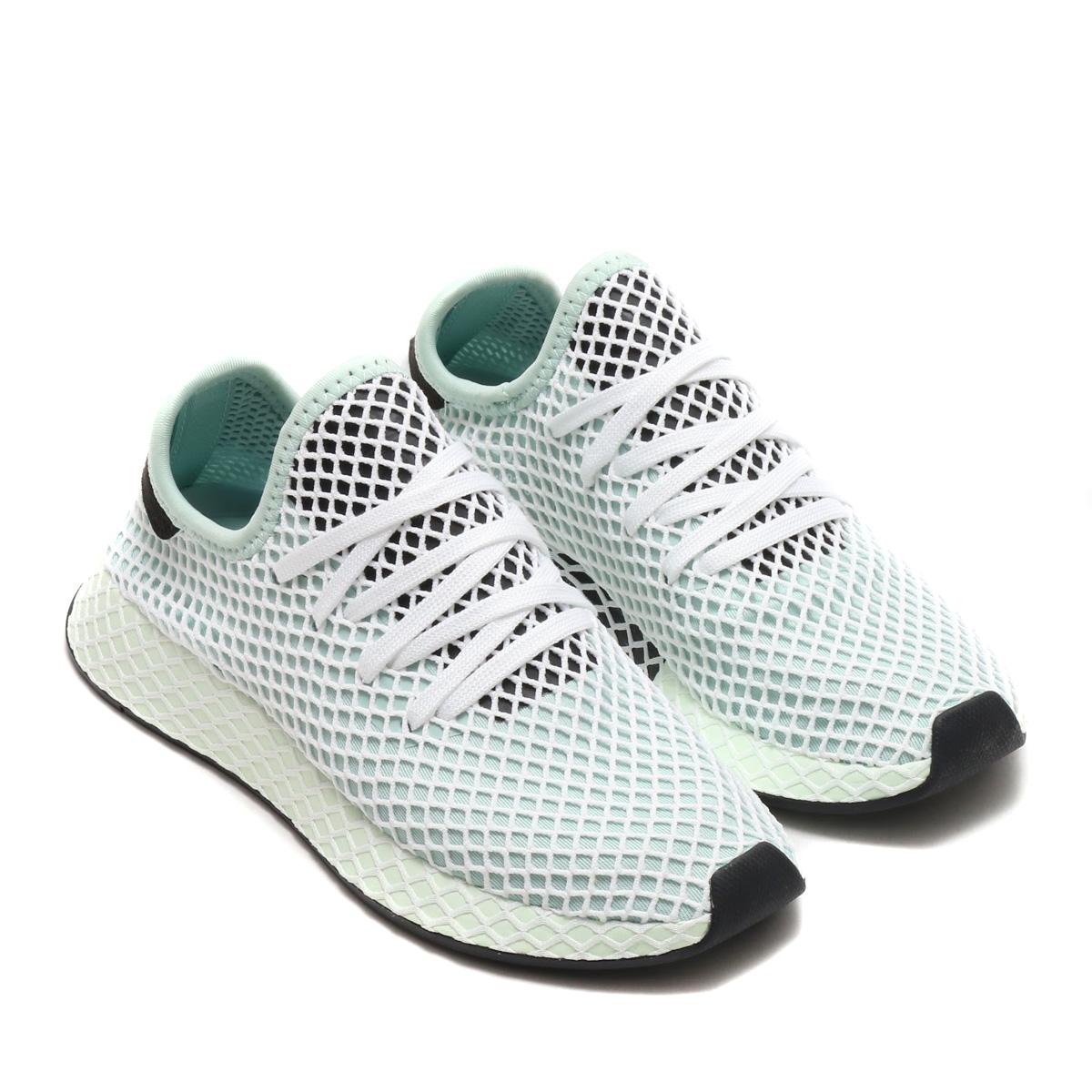adidas Originals DEERUPT RUNNER W(アディダス オリジナルス ディーラプト ランナー W)(アッシュグリーン S18/アッシュグリーン S18/コアブラック)18SS-I