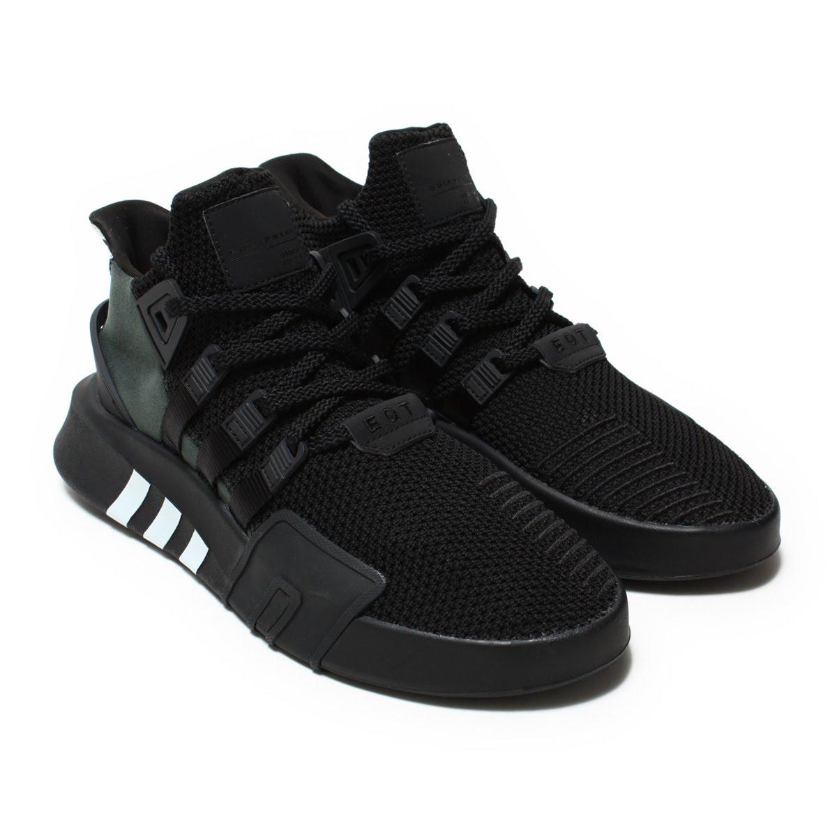 sports shoes 2d246 82e0b adidas Originals EQT BASK ADV (Adidas originals E cue tea BASK ADV) Core  Black/Core Black/Blue Tint 18SS-I