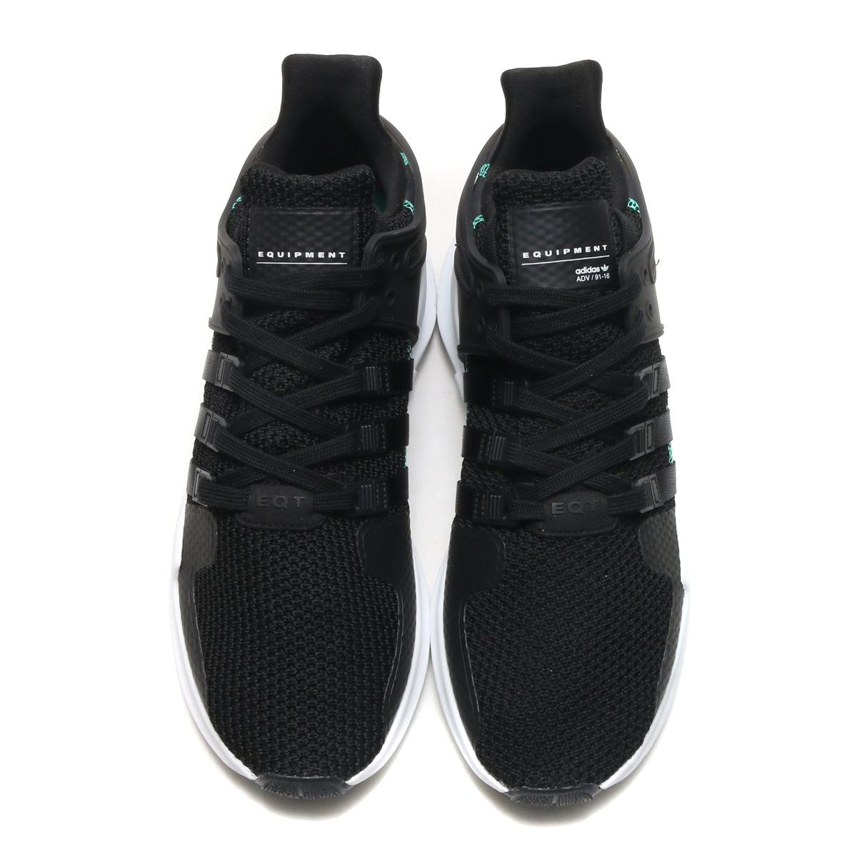 adidas Originals EQT SUPPORT ADV (Adidas originals E cue tea support ADV)  Core Black Core Black Ftwr White 18SP-I c3e6fd414