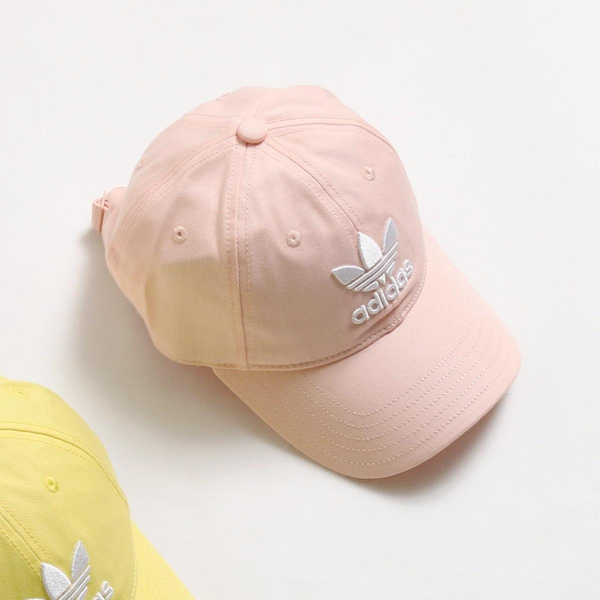 65674c9b38d069 adidas Originals TREFOIL CAP (アディダス オリジナルス トレフォイル キャップ) Blush/Pink/White  【帽子】