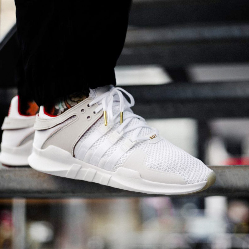 innovative design 74b43 a34f7 adidas Originals EQT SUPPORT ADV CNY (Adidas originals E cue tea support  ADV CHINESE NEW YEAR) Running White / Running White / Scarlet 18SS-S