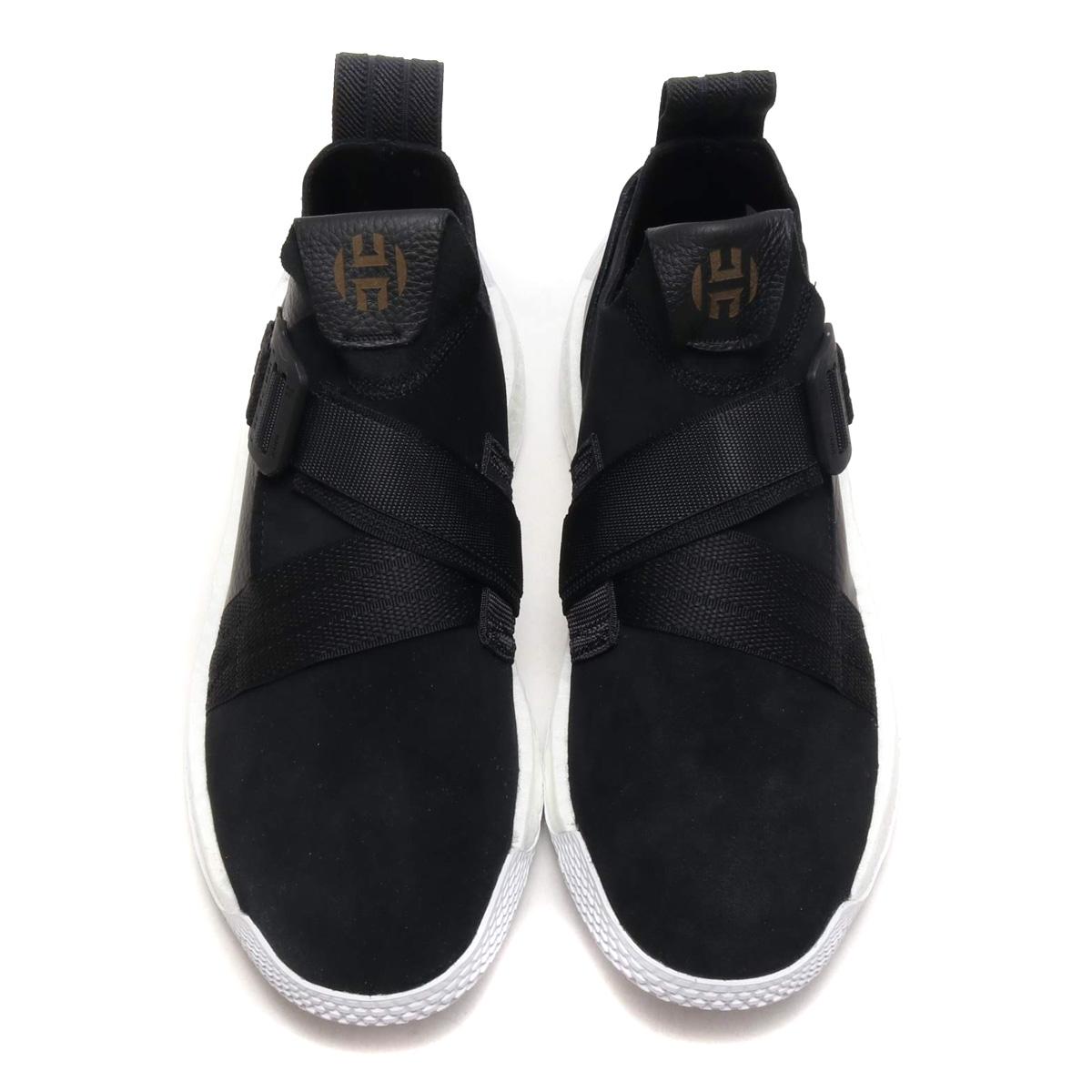 a0d48066a70 adidas Harden LS 2 BUCKLE (Adidas Arthur Harden LS2 buckle) Core Black Running  White Gold Met 18FW-I