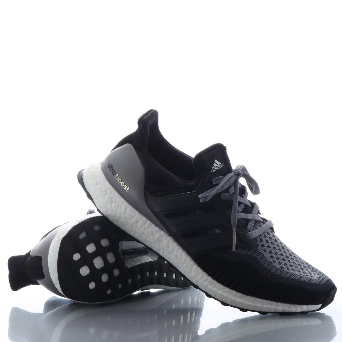 best service 3cf81 1a631 adidas UltraBOOST (Adidas ultra boost) CORE BLACK/CORE BLACK/GREY 18FW-I