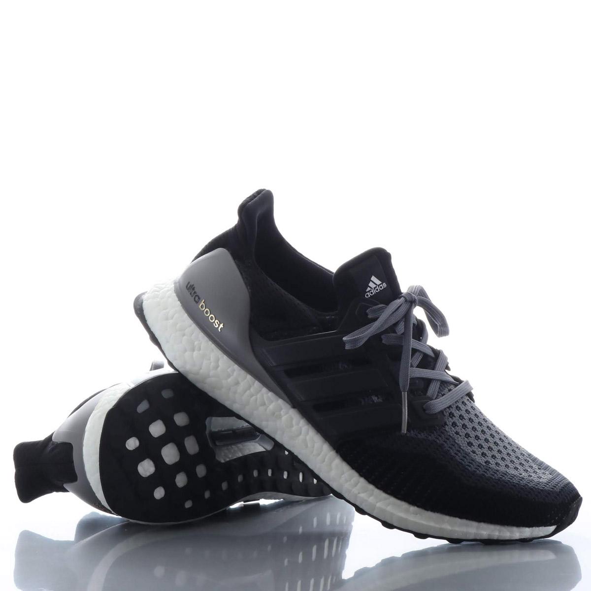 0c53bd2b80d adidas UltraBOOST (Adidas ultra boost) CORE BLACK CORE BLACK GREY 18FW-I