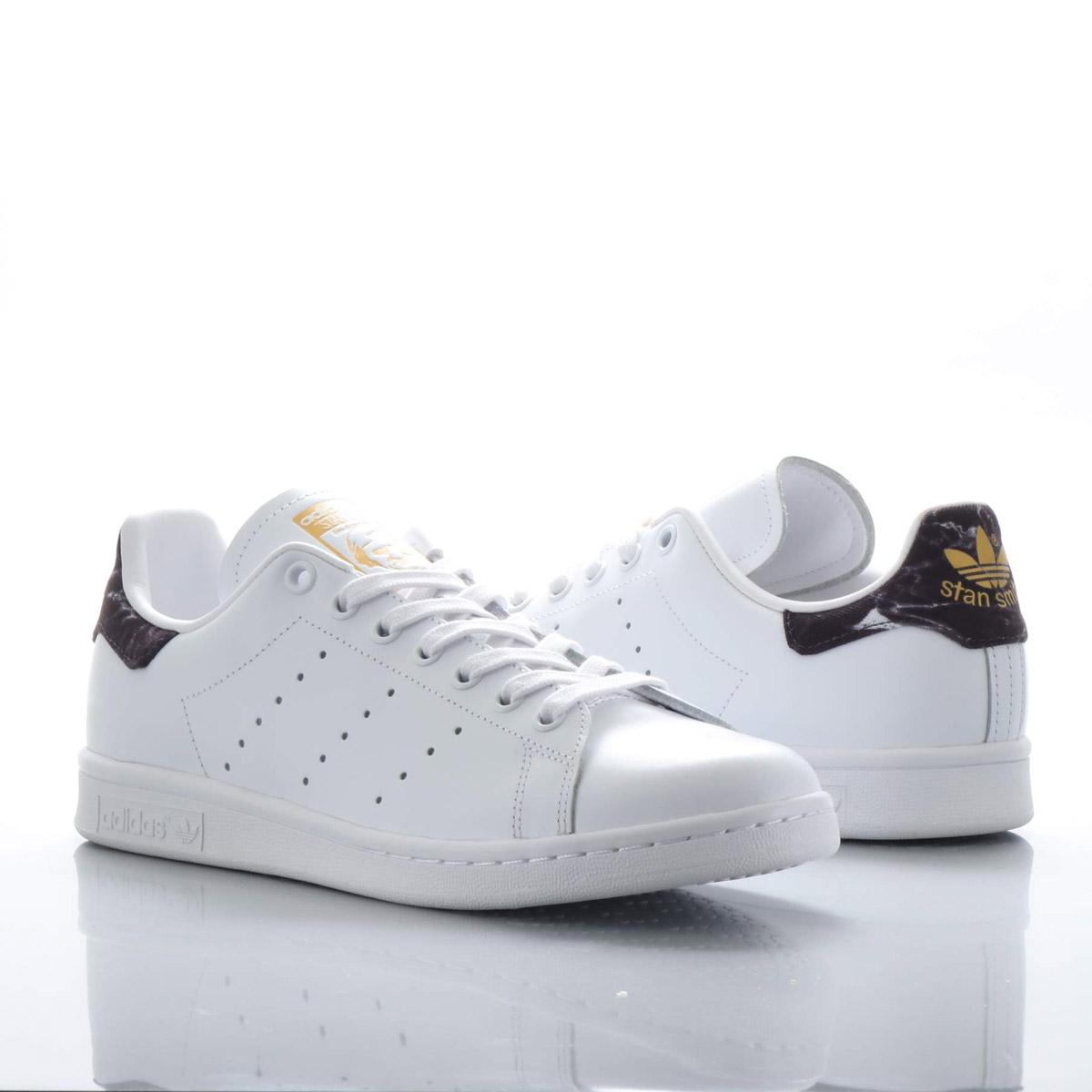 adidas Stan Smith(アディダス スタンスミス)ランニングホワイト/コアブラック/ゴールドメット【メンズ レディース スニーカー】18FW-I