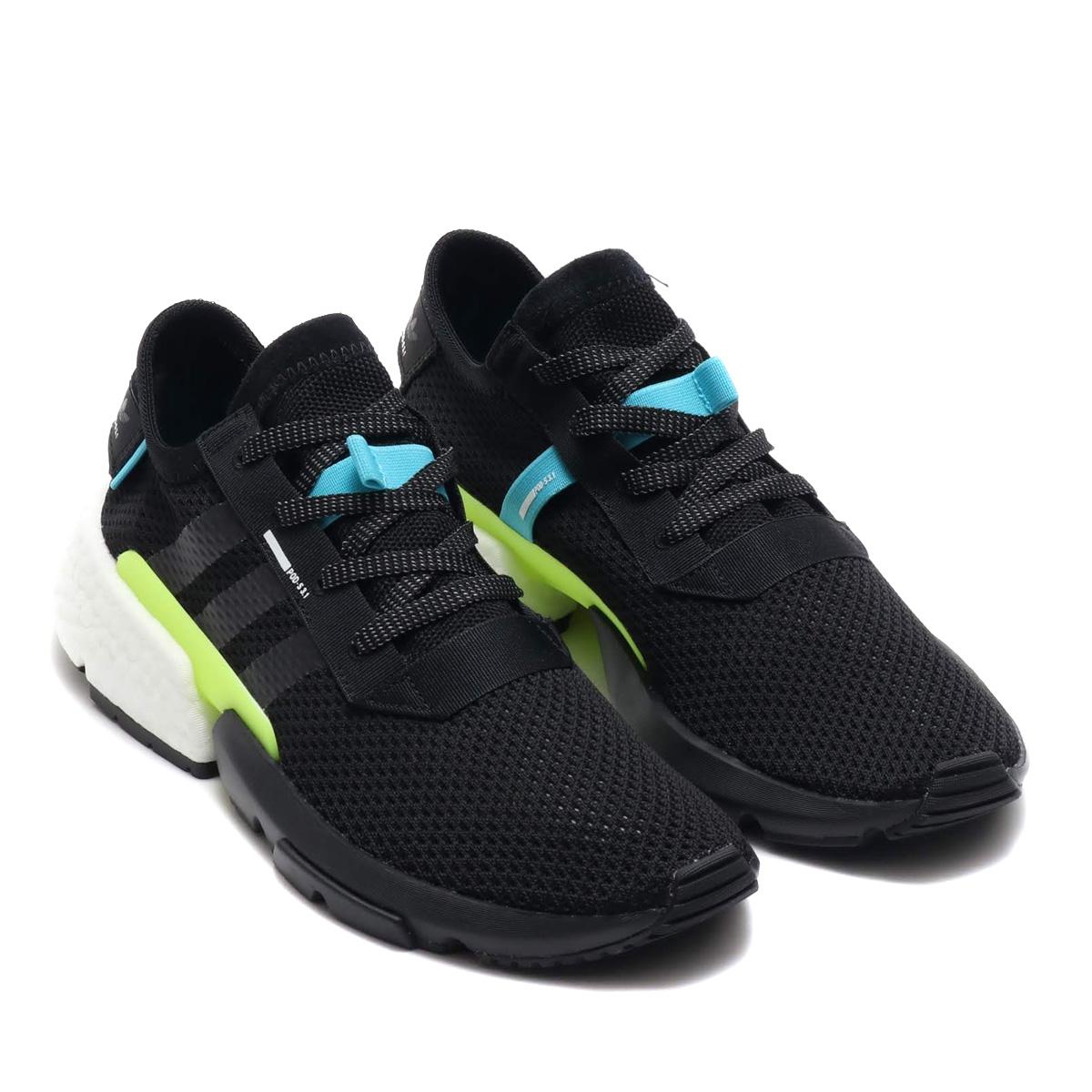 祝開店!大放出セール開催中 adidas POD-S3.1(アディダス adidas ピーオーディーS3.1)コアブラック/コアブラック/ランニングホワイト【メンズ スニーカー】18FW-I, 五霞町:d440ea8b --- canoncity.azurewebsites.net