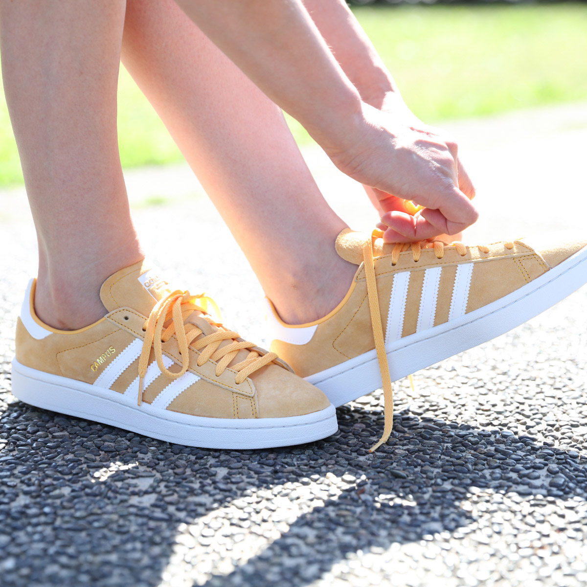 8fdee53684d821 adidas Originals CAMPUS W (Adidas campus w) Chalk Orange Running  White Crystal White 18FW-I