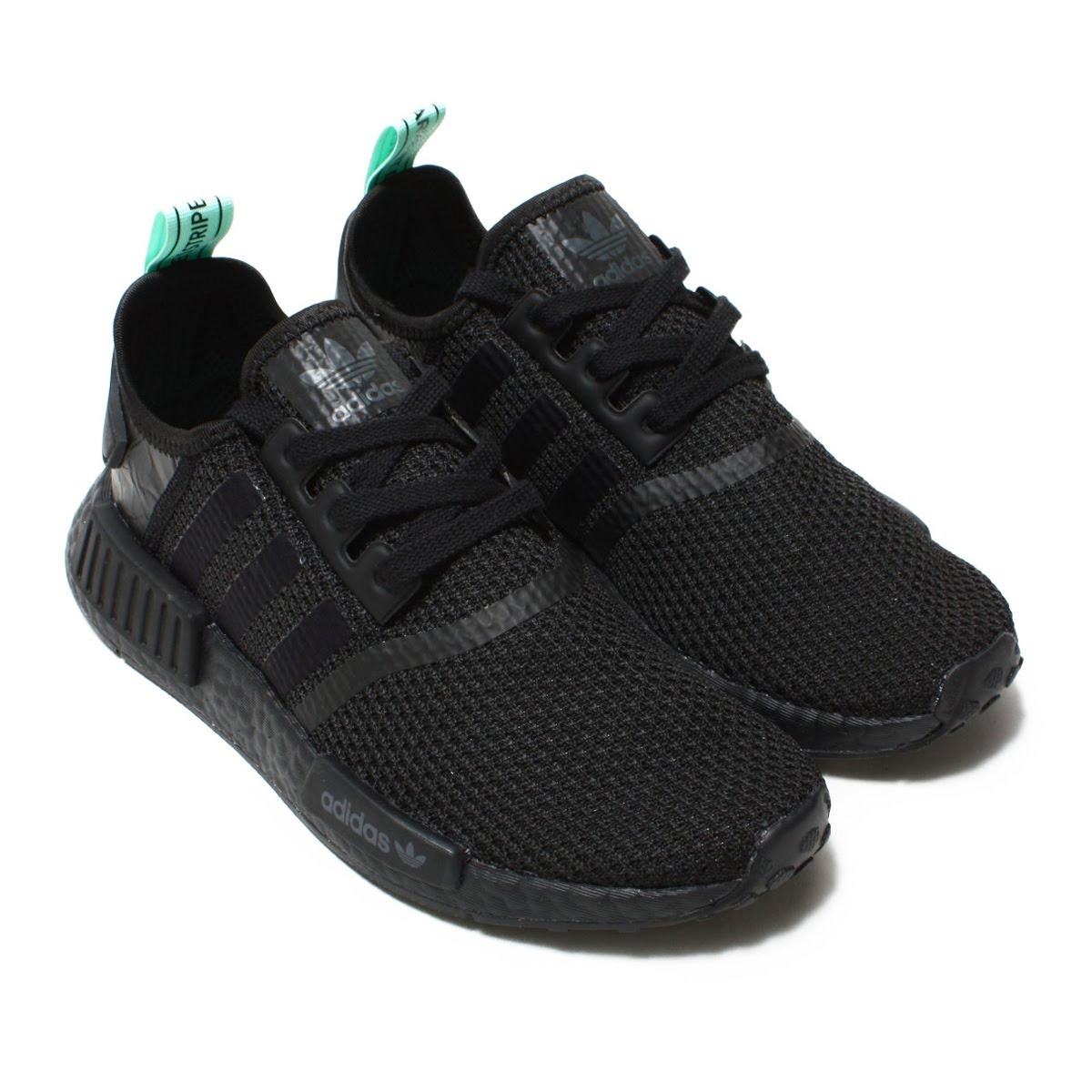 adidas Originals NMD R1 W (Adidas originals N M D R1 W) Core Black Core  Black Clear Mint 18FW-I 18f9f166b