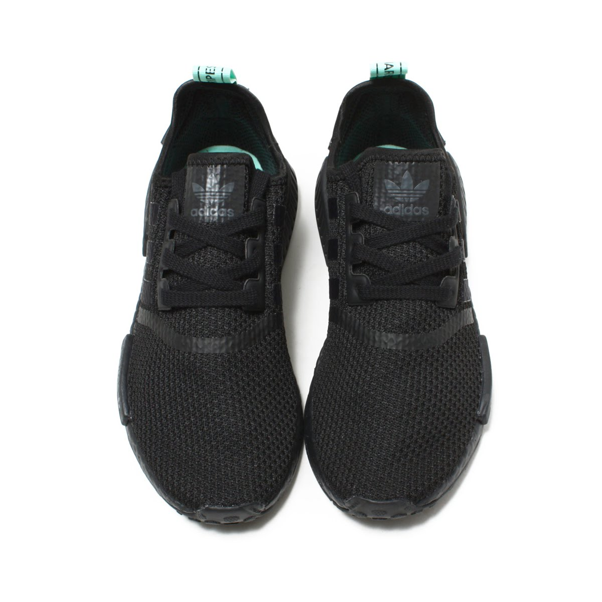 save off 5cecc ef1e3 adidas Originals NMD R1 W (Adidas originals N M D R1 W) Core BlackCore  BlackClear Mint 18FW-I