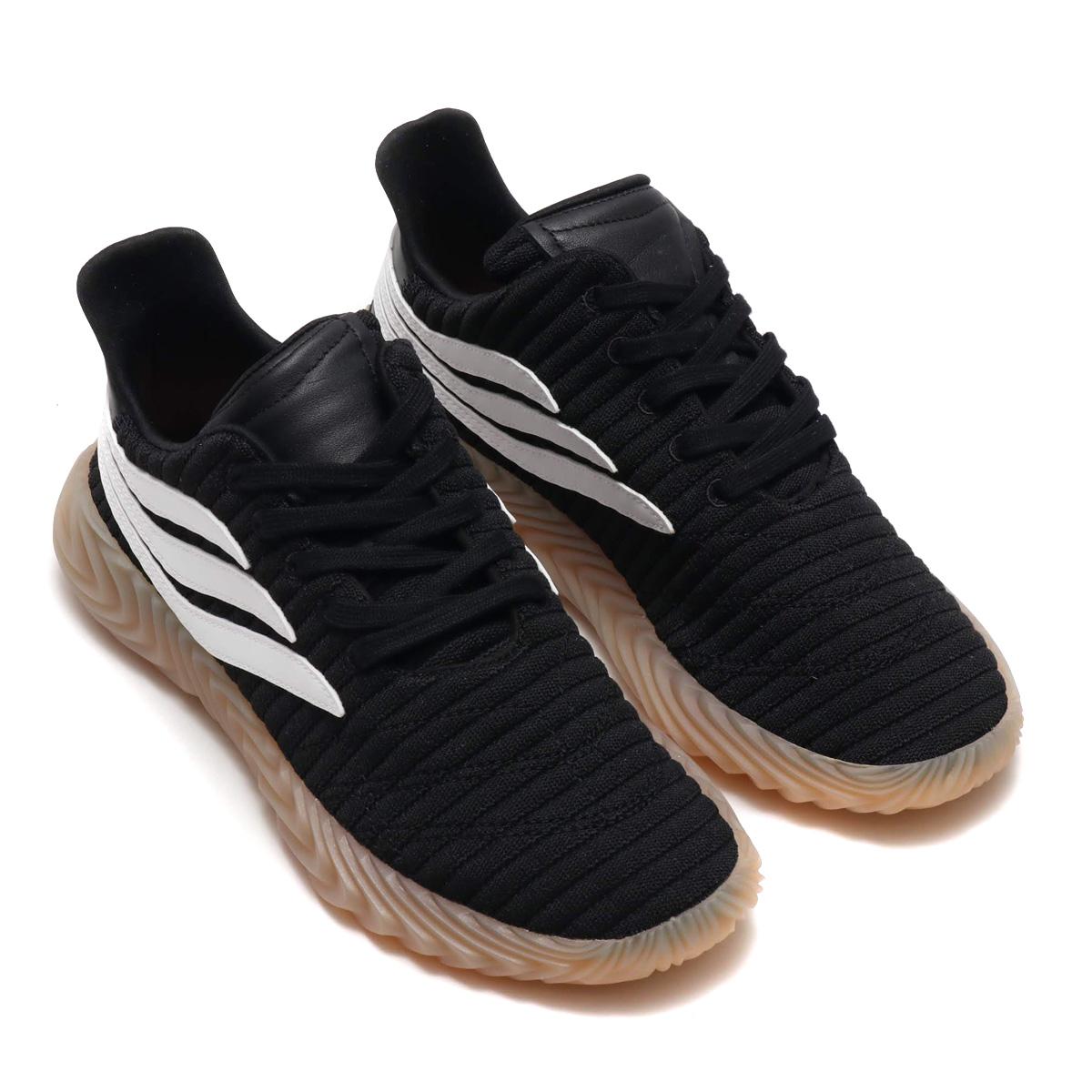 adidas Originals Sobakov(アディダス オリジナルス ソバコフ)CORE BLACK/RUNNING WHITE/GUM【メンズ スニーカー】18FA-I