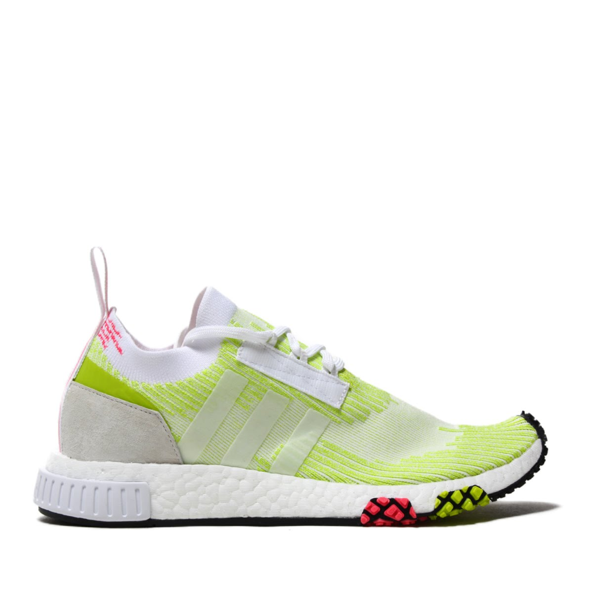 a28cad5c2aaa4 adidas Originals NMD RACER PK W (Adidas originals N M D racer PKW) SEMI  SOLAR YELLOW SEMI SOLAR YELLOW RUNNING WHITE 18FA-I