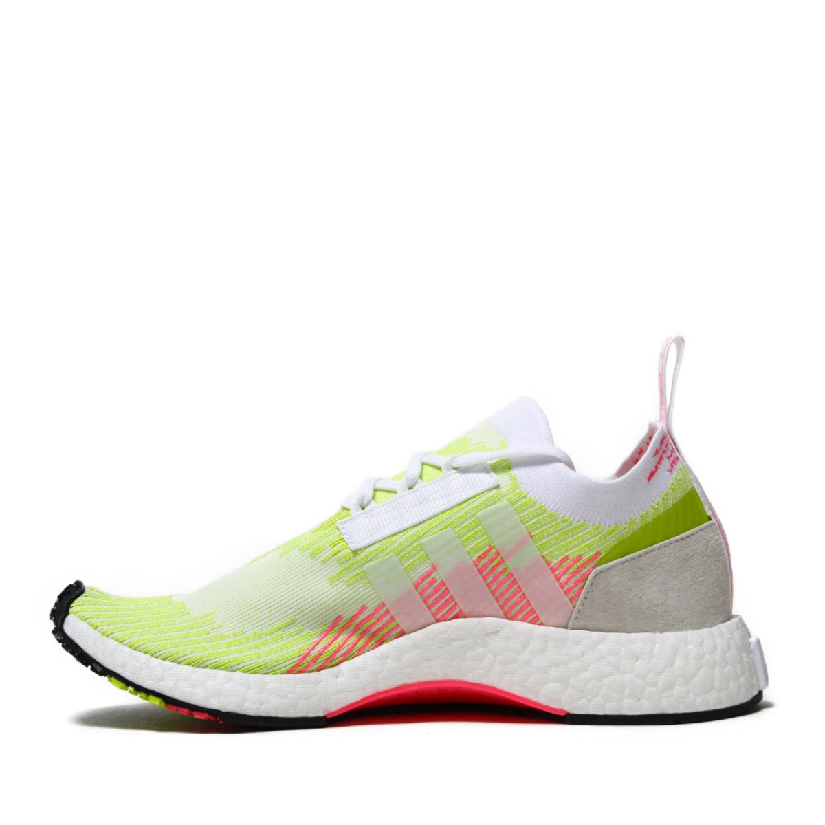 1433d5e64db9a8 adidas Originals NMD RACER PK W (Adidas originals N M D racer PKW) SEMI  SOLAR YELLOW SEMI SOLAR YELLOW RUNNING WHITE 18FA-I