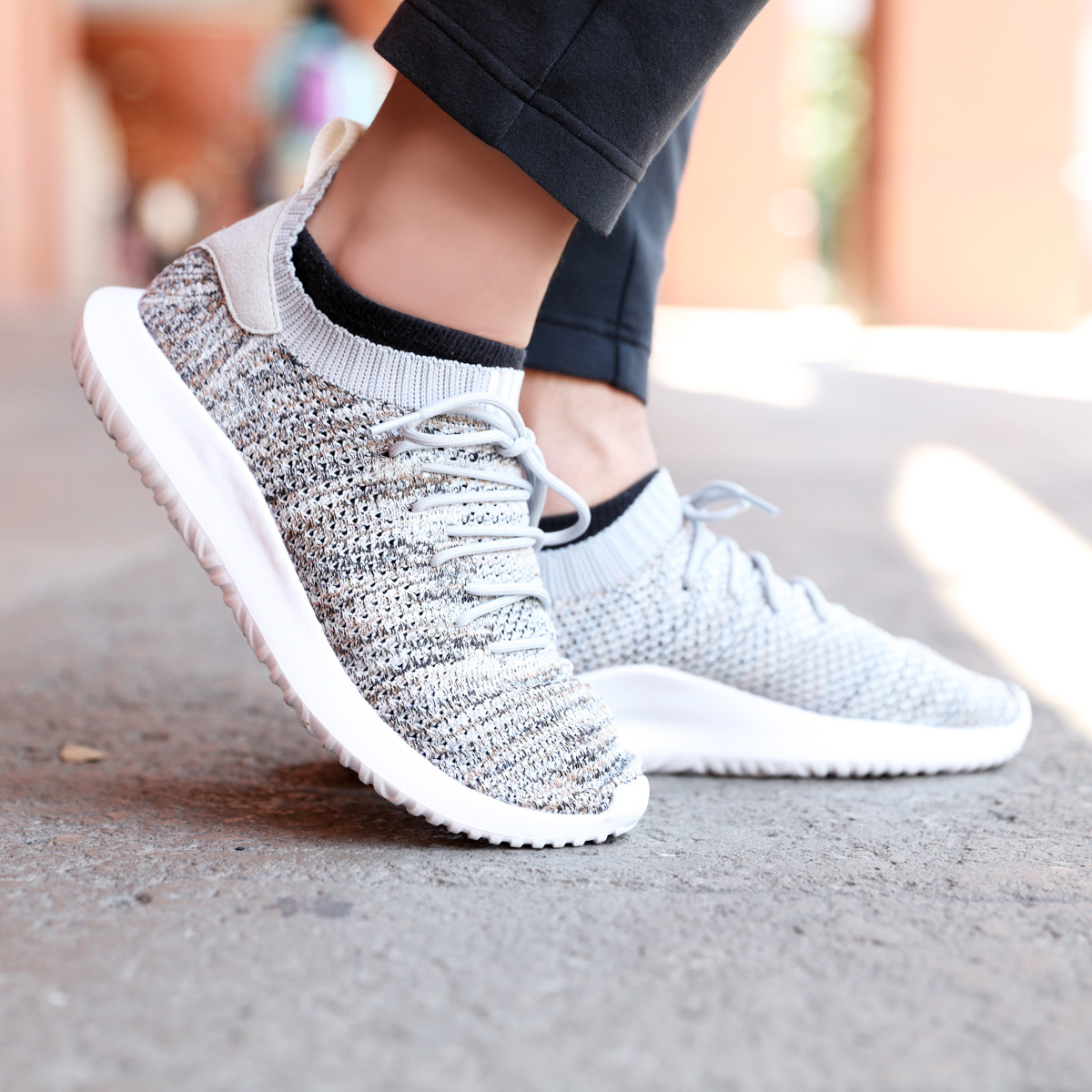 best sneakers 5e458 cf858 adidas Originals TUBULAR SHADOW PK (アディダスオリジナルスチューブラーシャドー PK) Cloud  White/Core Black/Low Desert 18FW-I