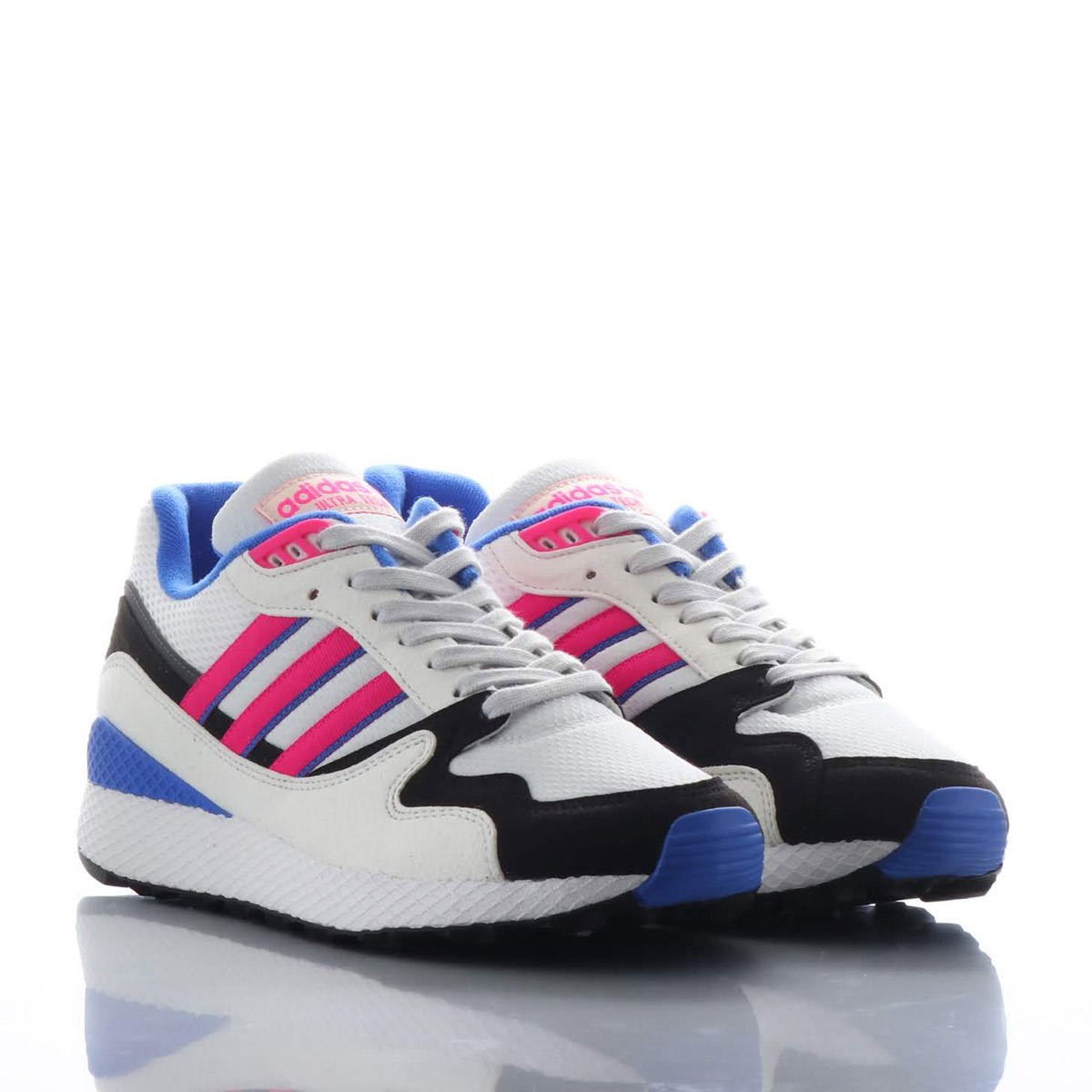 b96b682c536df adidas Originals ULTRA TECH (Adidas ultra technical center) Crystal White Shock  Pink Core Black 18FW-I