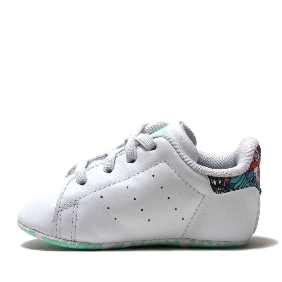adidas Originals STAN SMITH CRIB (Adidas originals Stan Smith CRIB) Running WhiteClear MintClear Mint 18FW I