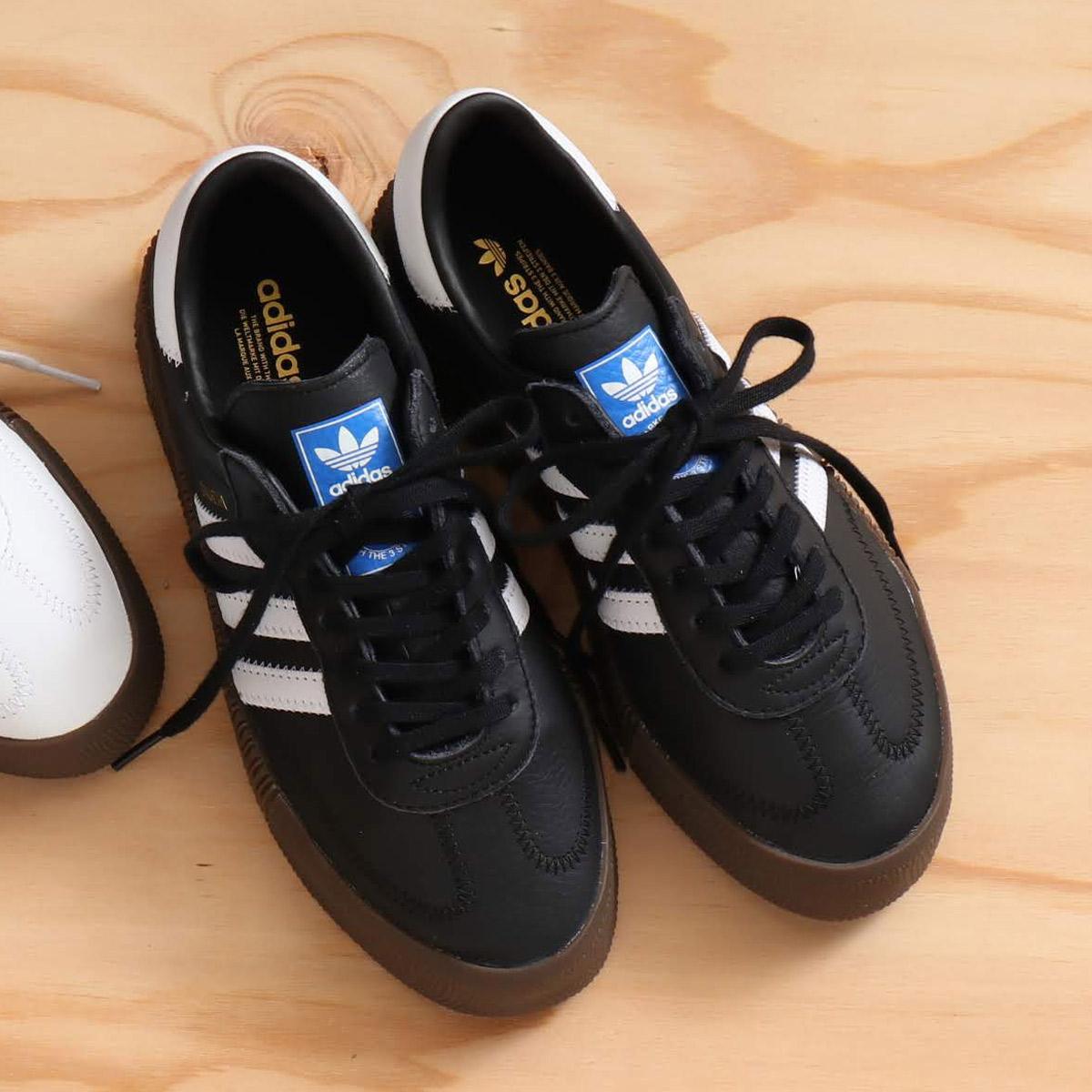 adidas SAMBAROSE W(アディダス サンバローズW)コアブラック/ランニングホワイト/ガム5【メンズ レディース スニーカー】18FW-I