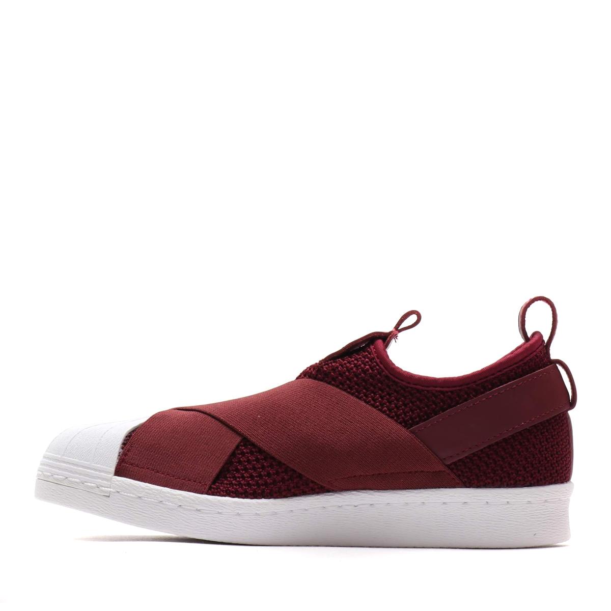 001f56b58562 adidas Originals SS Slip On W (Adidas originals superstar slip-ons W) RED  NIGHT RED NIGHT RUNNING WHITE 18FW-I