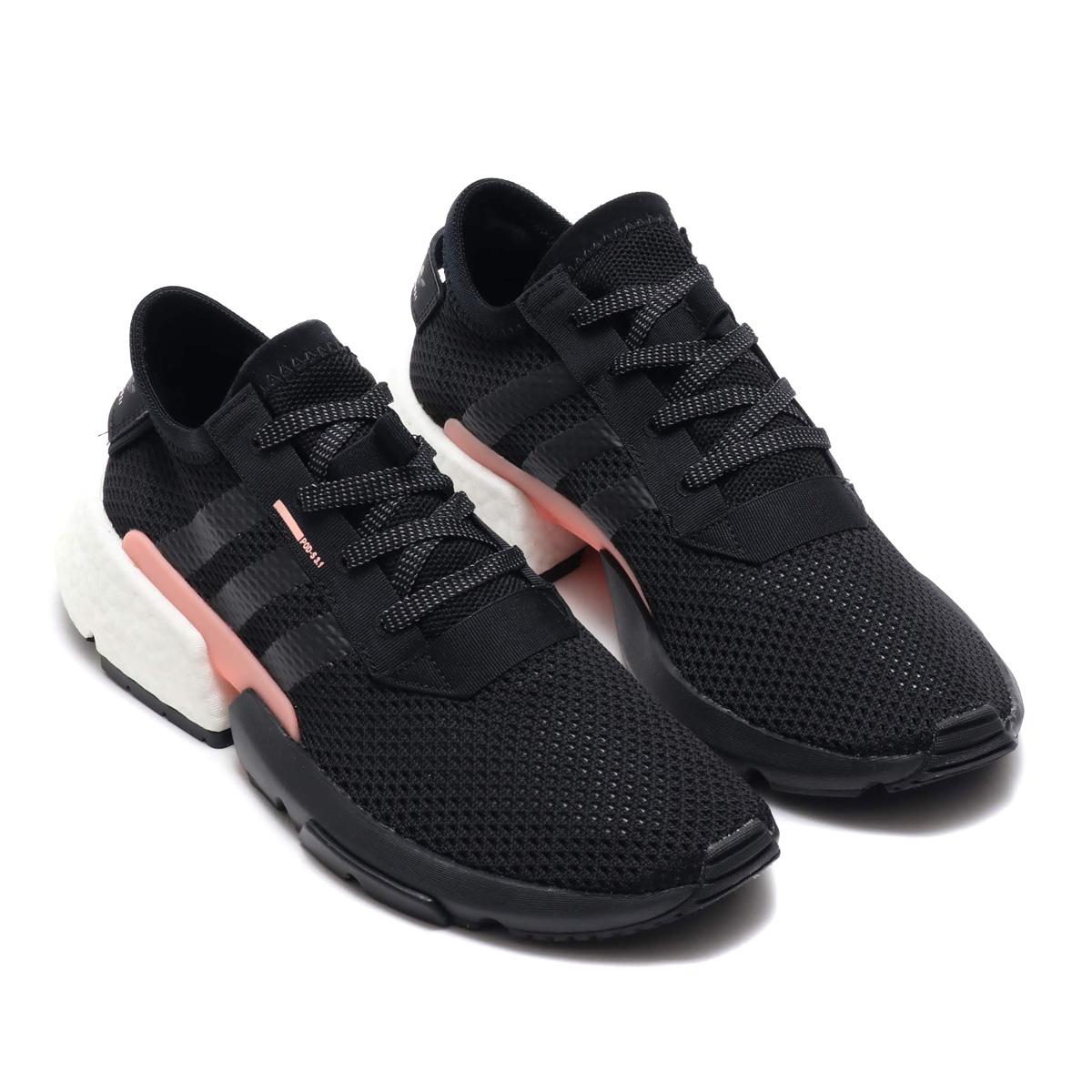 separation shoes 6e061 cbeda adidas POD-S3.1 (アディダスピーオーディー S3.1) core black  core black  clear orange  F18 18FW-I