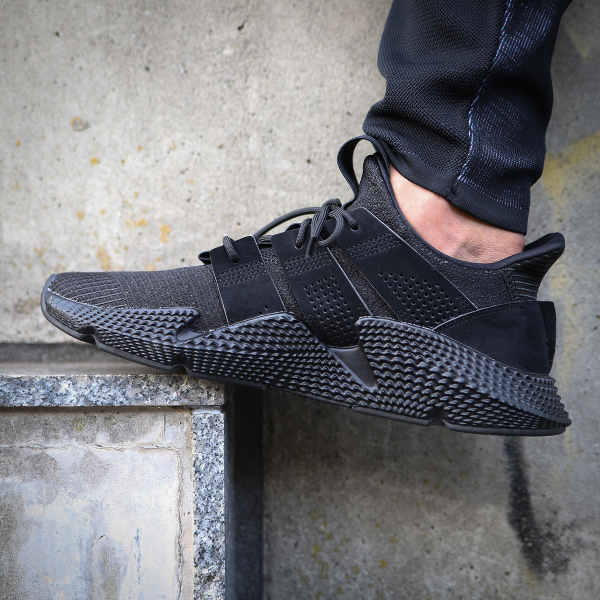 adidas prophere black core - 64% remise