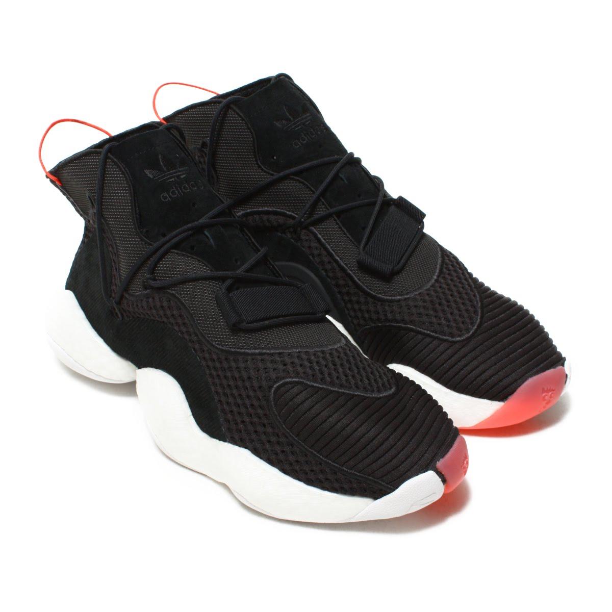 best service eda3f 1304c adidas Originals CRAZY BYW LVL I (Adidas crazy BYW LVL1) Core Black.Running  WhiteBright Red 18FW-I